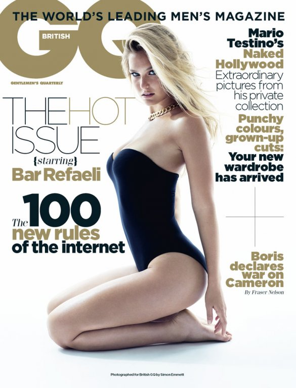 GQ September 2011 Cover